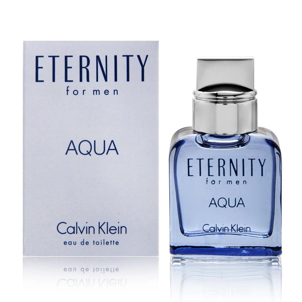 Eternity Aqua by Calvin Klein for Men 0.33oz Cologne EDT