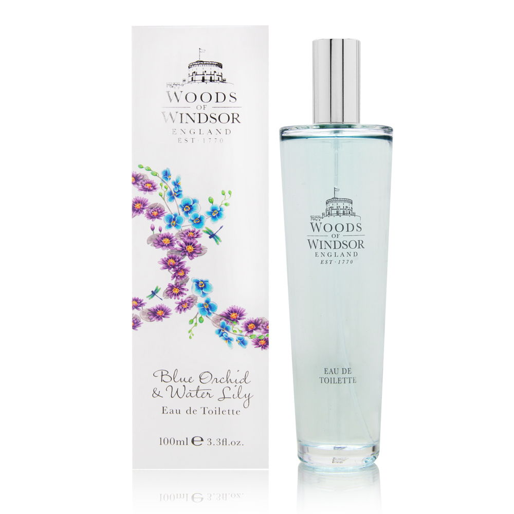 Blue Orchid & Water Lily by Woods of Windsor 3.3oz EDT Spray