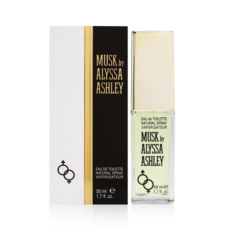 Musk by Alyssa Ashley for Women 1.7oz EDT Spray Shower Gel
