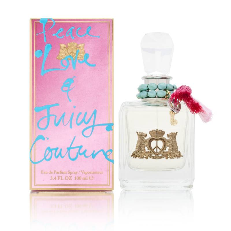 Peace Love & Juicy Couture by Juicy Couture for Women 3.4oz EDP Spray