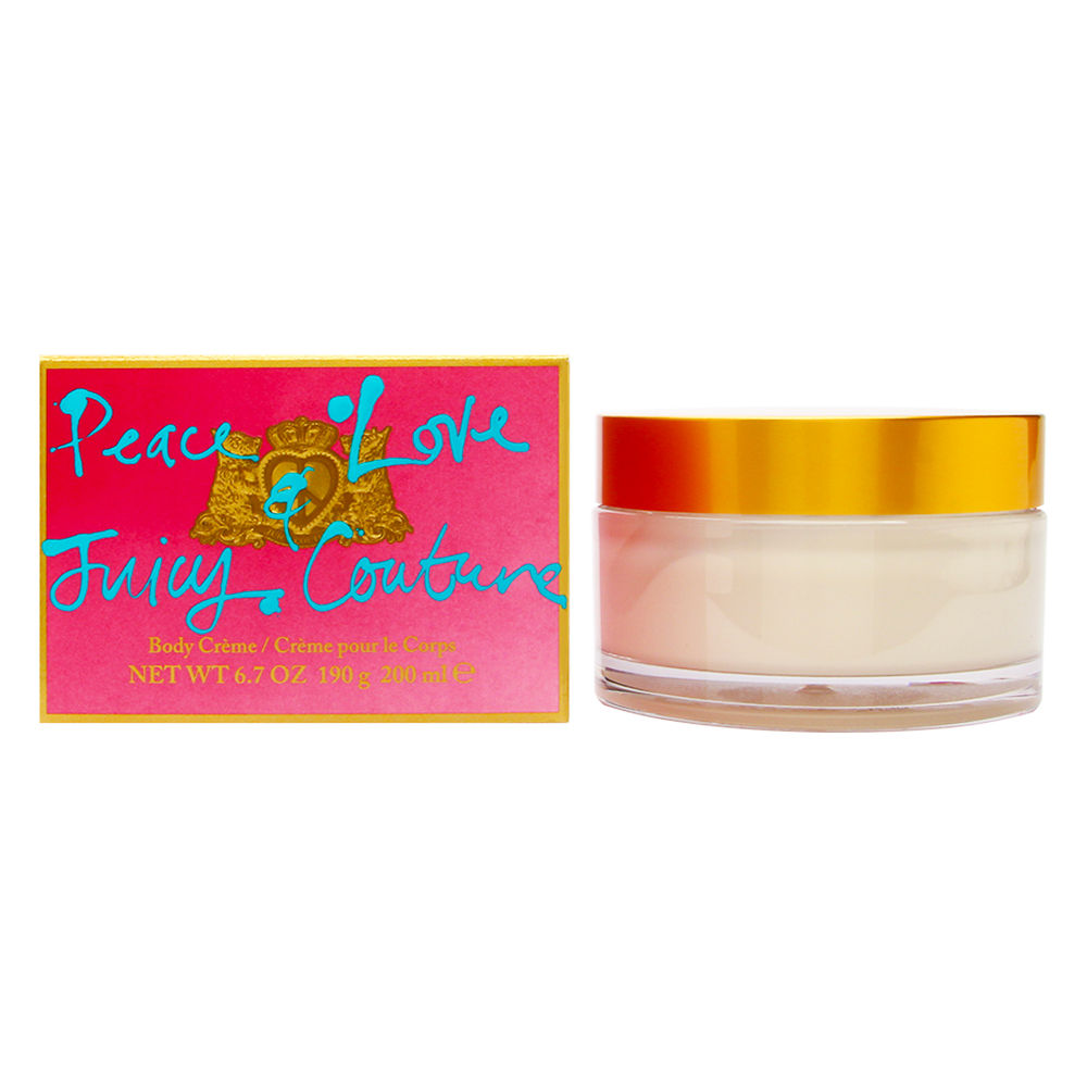 Peace Love & Juicy Couture by Juicy Couture for Women 6.7oz Body Cream