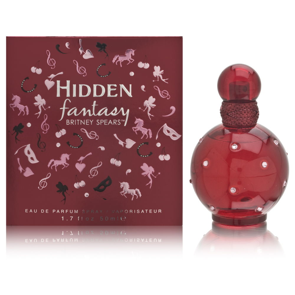 Hidden Fantasy by Britney Spears for Women 1.7oz EDP Spray Shower Gel
