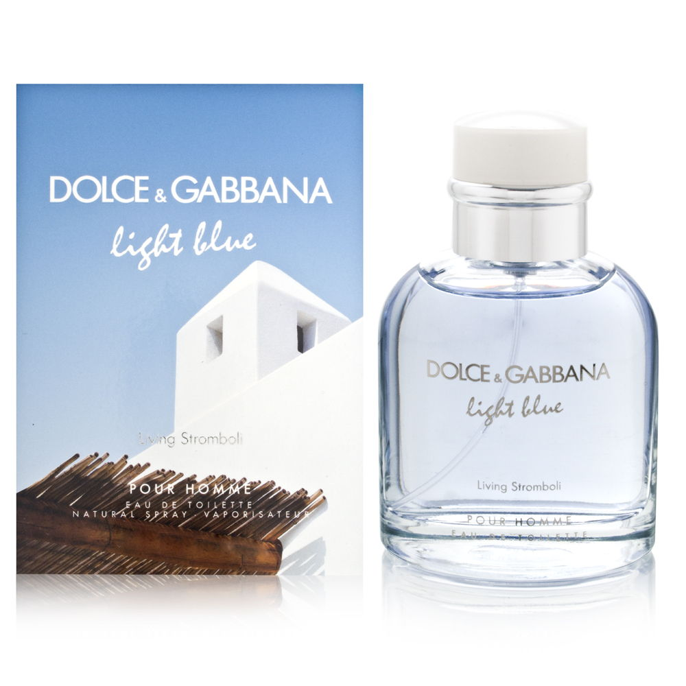 Light Blue Living Stromboli by Dolce & Gabbana for Men 4.2oz EDT Spray