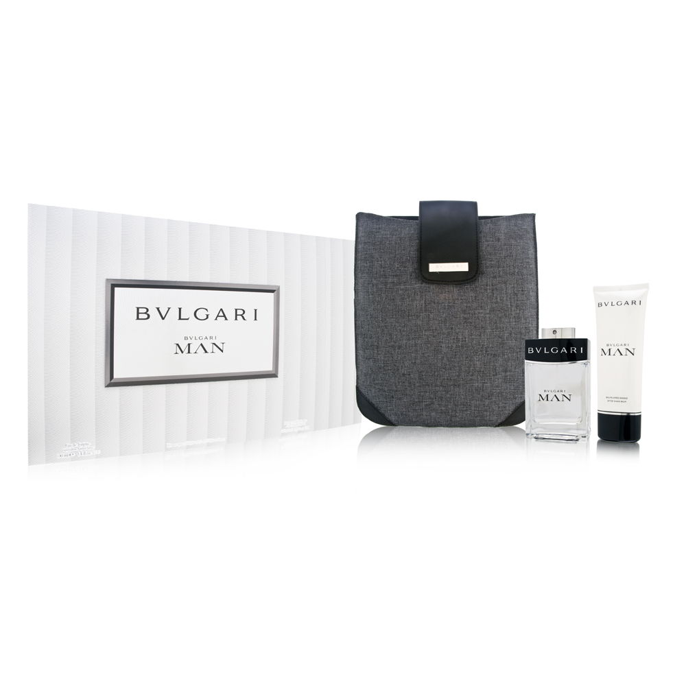 Bvlgari Man by Bvlgari  men 3.4oz EDT Spray Aftershave Gift Set