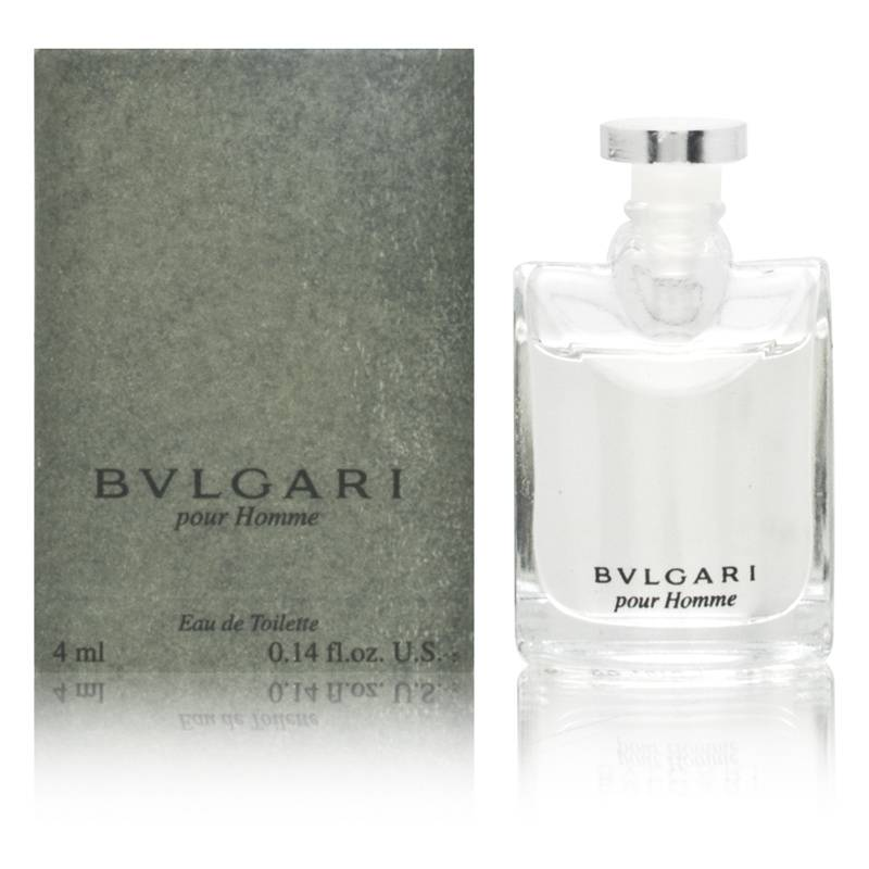 Bvlgari Pour Homme by Bvlgari for Men 0.14oz Cologne EDT