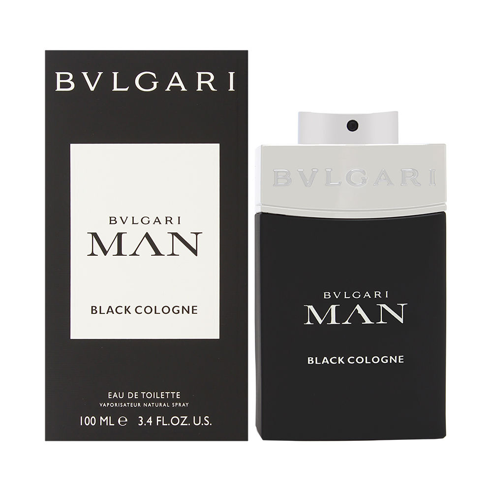 Bvlgari Man Black Cologne  men 3.4oz Cologne EDT Spray