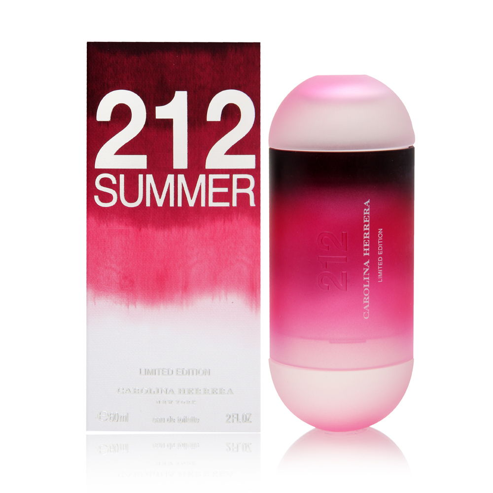 Puig 212 Summer by Carolina Herrera for Women 2.0oz EDT Spray Shower Gel