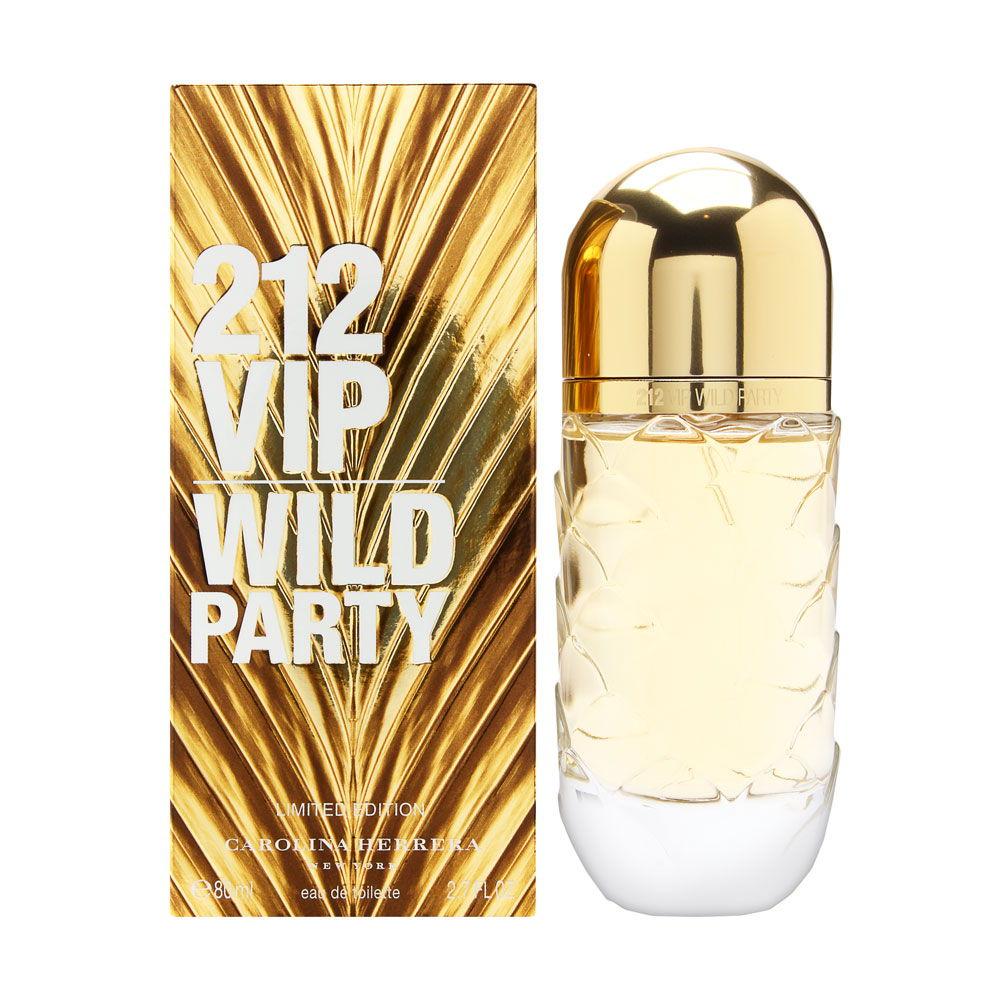 Puig 212 VIP Wild Party by Carolina Herrera for Women 2.7oz EDT Spray