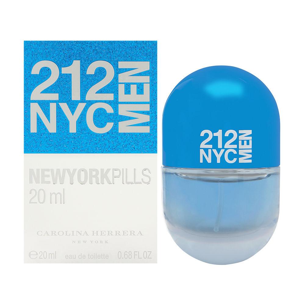 212 Men by Carolina Herrera 0.68oz EDT Spray Shower Gel