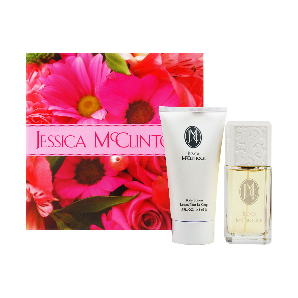 Jessica McClintock by Jessica McClintock for Women 3.4oz EDP Spray Body Lotion Gift Set