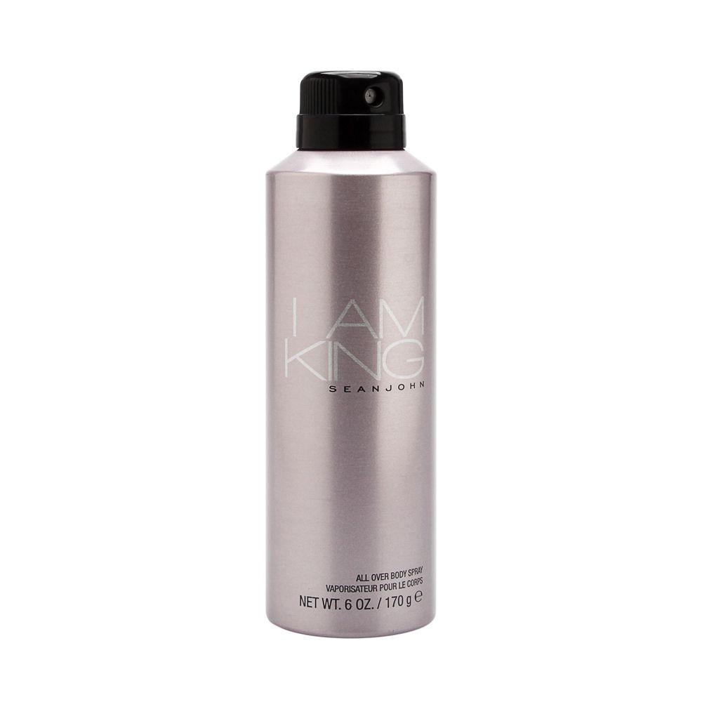 I Am King by Sean John Fragrances for Men 6oz Spray Shower Gel