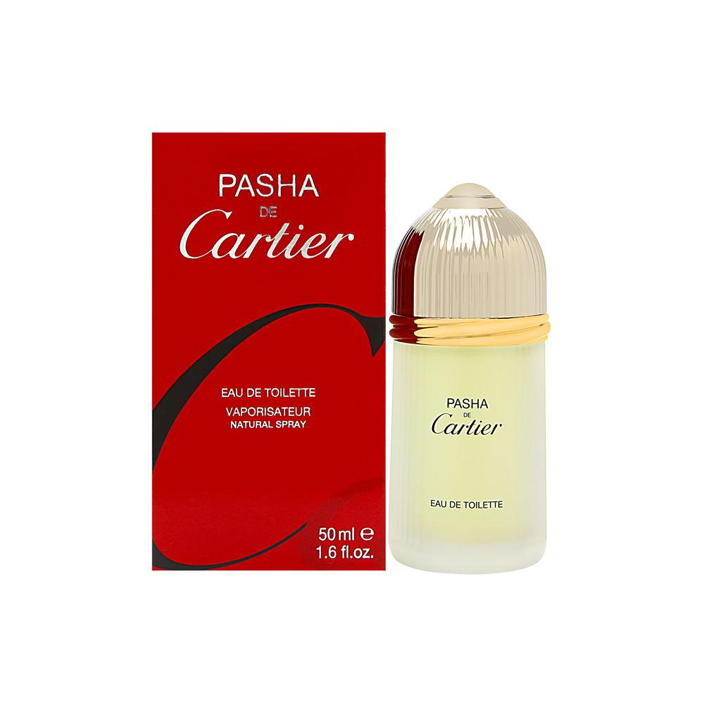 Pasha de Cartier by Cartier for Men 1.6oz EDT Spray Shower Gel