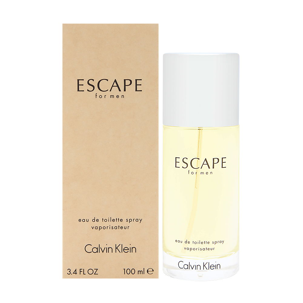 Escape by Calvin Klein for Men 3.4oz EDT Spray Shower Gel