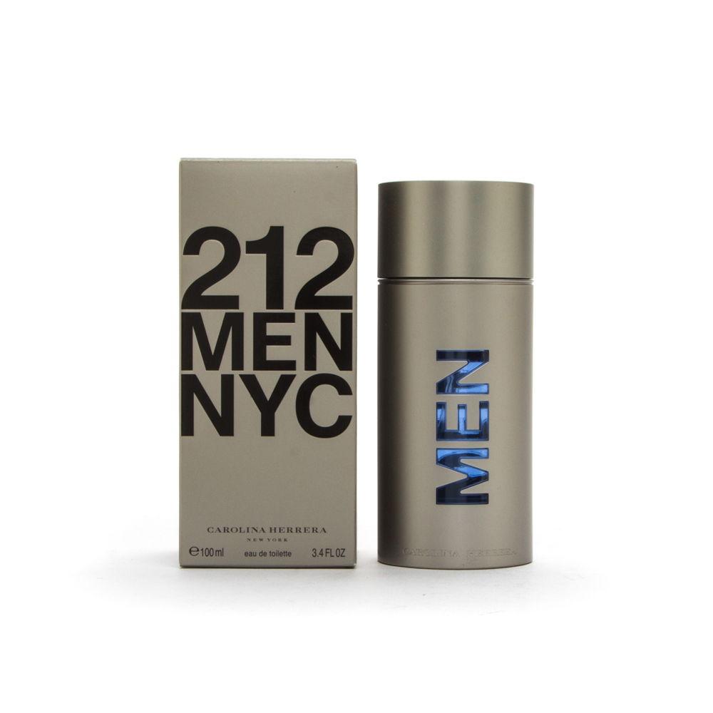 Puig 212 Men by Carolina Herrera 3.4oz EDT Spray Shower Gel