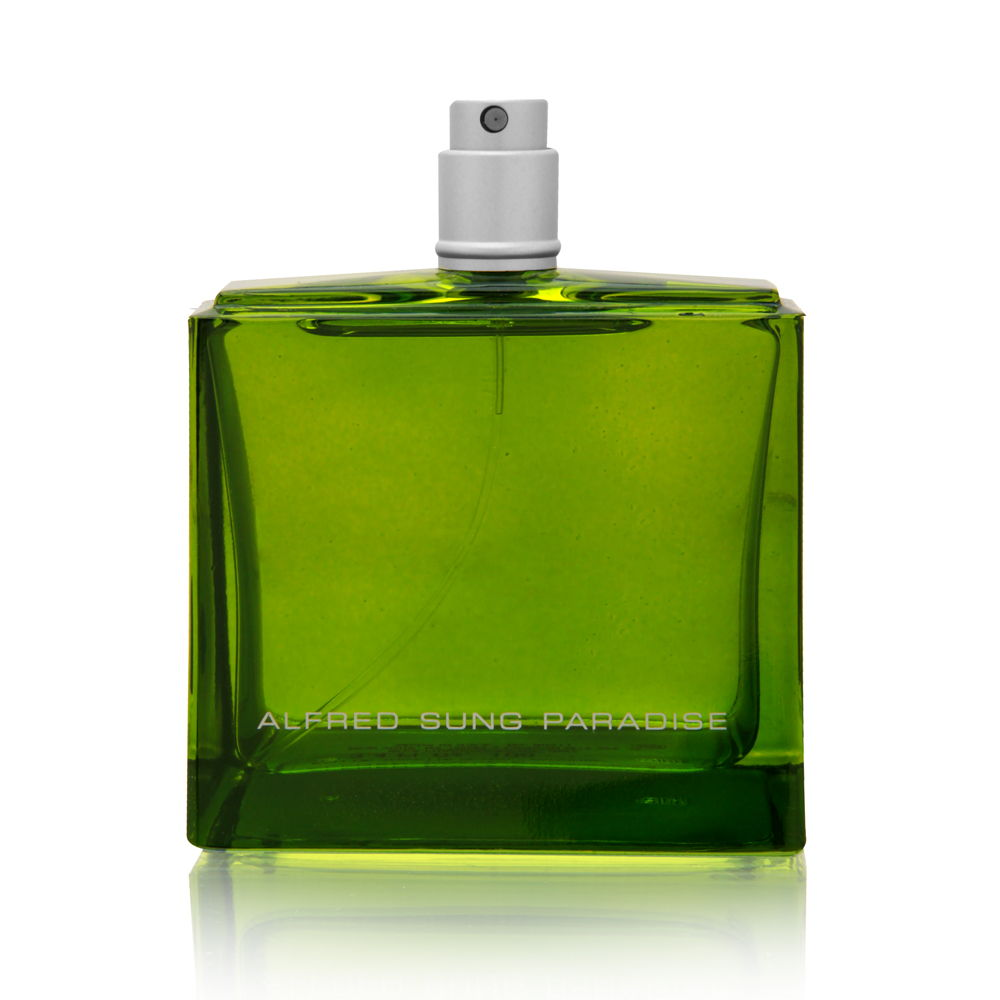 Paradise by Alfred Sung for Men 3.4oz Cologne EDT Spray (Tester) Shower Gel
