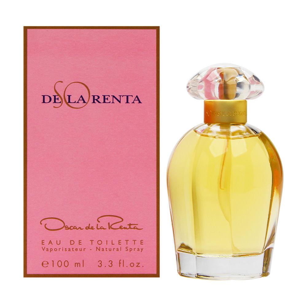 So de la Renta by Oscar de la Renta for Women 3.3oz EDT Spray Shower Gel